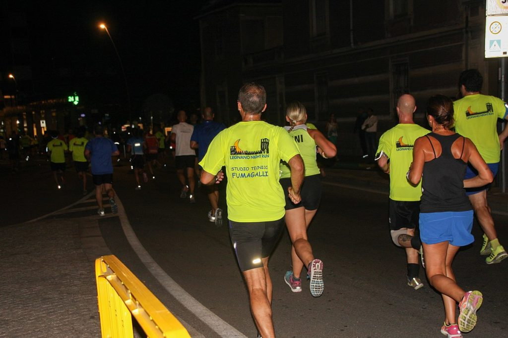 NN Night run a Avon běh Brno